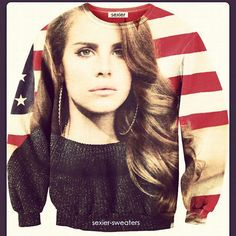 Just in time for the 4th of July!!   #LDR  #LanaDelRey