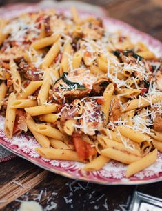 Yummy Pasta Recipes, New Recipes, My Favorite Food, Favorite Recipes, Confort Food, Pasta Dishes, Pasta Salad, Clean Eating, Food And Drink