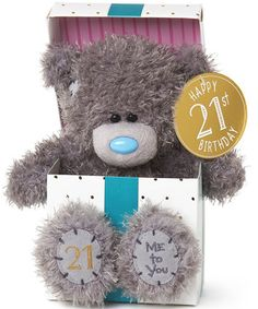 Me To You 40th Birthday Teddy Bear 21 Gifts 40 Special