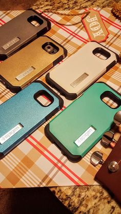 For Galaxy S6 Spigen Tough Armor Style Case with a Kickstand