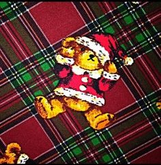 39.59$  Buy here - http://viwiw.justgood.pw/vig/item.php?t=wxbrg47153 - Buttery Soft Christmas Plaid Teddy Bear Holiday Leggings One Size S M L Plaid OS 39.59$