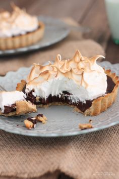 Toasted Marshmallow Smore Tart - Against All Grain | Against All Grain - Delectable paleo recipes to eat & feel great