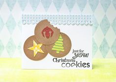 Ideas for our Soldiers' cards...the kids and I will be sending off 100 Christmas Cards to the wounded soldiers! Feeling CRAFTY!!! Crafting Christmas Cards with Kids / Christmas | Fiskars