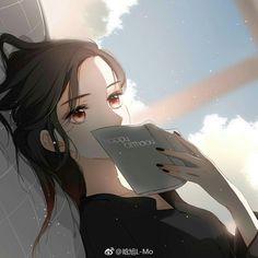 Anime Oc, Anime Eyes, Kawaii Anime, Manga Anime, Pretty Anime Girl, Anime Art Girl, Fille Anime Cool, Cherry Blossom Japan, Cherry Blossoms