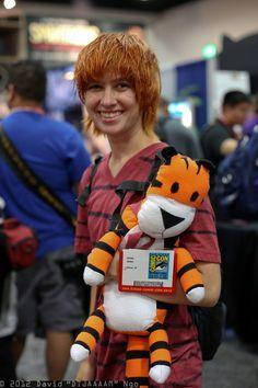 #Calvin and #Hobbes costume