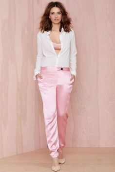 Karla Spetic Iridescence Silk Trouser
