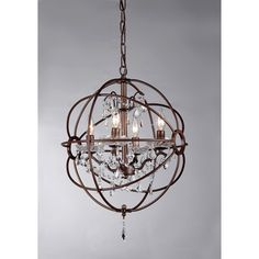 Crystal Sphere Chandelier Orb Chandelier With Crystals Home - Orb chandelier with crystals