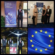 Presentes el día Viernes 24 de Marzo en el Country Club, con nuestro excelente servicio de valet parking en La residencia oficial del Embajador de Italia, celebrando el ¡ 60 Aniversario del Tratado de Roma! Que fundó la #UnionEuropea #EU60,gracias a la Embajadora de la @UEenvenezuela #audemaio-coliche y el Embajador de # Italia Silvio Mignano felicitaciones les desea @valetparkingrhccs, #caracas #roma #UE #UEENVENEZUELA #Venezuela #UE60
