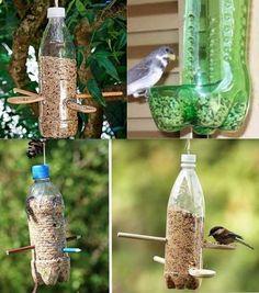 Why Build a Bird Aviary? Why Build a Bird Aviary? Bird Feeder Craft, Garden Bird Feeders, Bird House Feeder, Humming Bird Feeders, Reuse Plastic Bottles, Homemade Bird Feeders, Bird Houses Diy, Bird Aviary, Backyard Birds