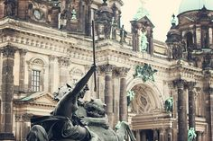 Berlin Cathedral and Altes Museum.