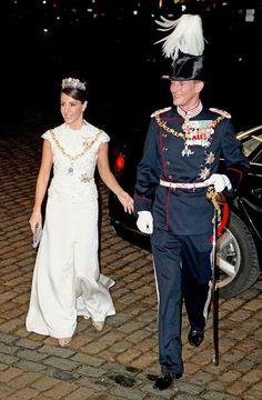 Princess Marie & Prince Joachim. January 1, 2016 New Years Reception In Denmark.