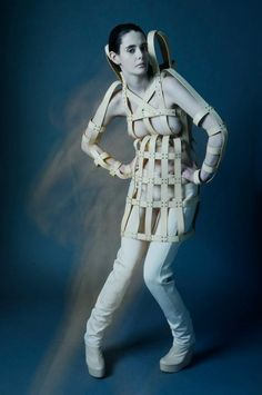Veggie Tan Cage Dress and Light-weight Neoprene Legging
