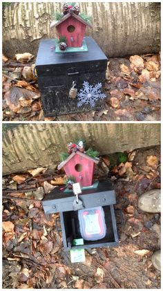 Looks like a nice geocache to find on Christmas holidays!  #IBGCp