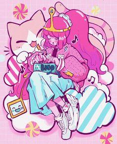 Arte Do Kawaii, Kawaii Art, Cute Art Styles, Cartoon Art Styles, Marceline, Kawaii Drawings, Cool Drawings, Character Art, Character Design