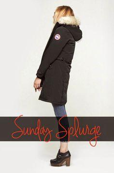 Sunday Splurge: Canada Goose Kensington Parka!