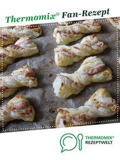 Speck-Schleifen von Nigro. Ein Thermomix ® Rezept aus der Kategorie Backen herzhaft auf www.rezeptwelt.de, der Thermomix ® Community.