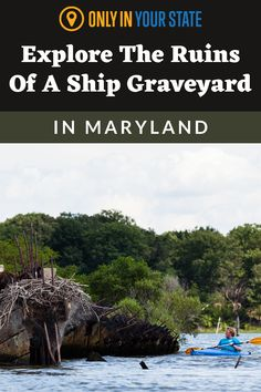 Explore the ruins of a ghost ship graveyard in Maryland! You can kayak or canoe to get up close to these eerie, abandoned boats. Known as the largest shipwreck fleet in the Western Hemisphere, Mallows Bay is unique and worth seeking out. Haunted Places, Abandoned Places, Best Bucket List, Kayak Adventures, Ghost Ship, Hidden Beach, Shipwreck, Family Vacations, Weekend Trips