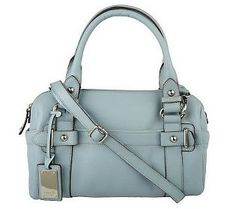 9dd715c643 Tignanello Pebble Leather Satchel w Removable Crossbody Strap Pebbled  Leather