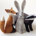 Coriandr / jennymade / Kit-Needle Felt Badger Kit..