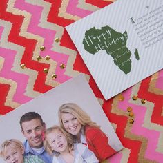 From Us With Love Photo Card | Customizable