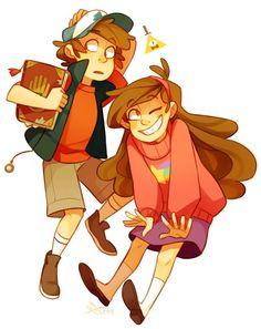 Gravity Falls /Dipper Pines /Mabel Pines