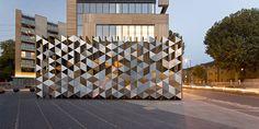 Bermondsey Square Bicycle Station, Sarah Wigglesworth Architects, Mark Hadden Photography