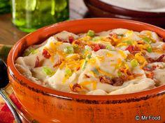 Loaded Mashed Potatoes | mrfood.com