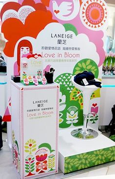 Packaging for cosmetic company Laneige by one of our favorite illustrators Sanna Annukka