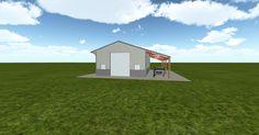 Cool 3D #marketing http://ift.tt/2hDc4K9 #barn #workshop #greenhouse #garage #roofing #DIY