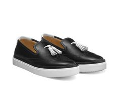 """Hermes sneaker in patent leather Epsom calfskin and calfskin, """"Esprit Ghillies"""" perforated details Epsom, Espadrilles, Vans Classic Slip On, Sneakers, Baby Shoes, Fashion, Footwear, Shoe Collection, Spirit"""