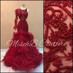 Bridal gown by mischb couture