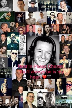 I made this picture for you, hope you can see it up there. Rest in Peace Chester Bennington. I hope you are no longer at war with yourself. Your music has inspired many and will forever continue that. Just like your voice will forever be the song in my heart. It's not going to be the same without you in the band, but your happiness is the only thing that matters. I love you RIP.❤️