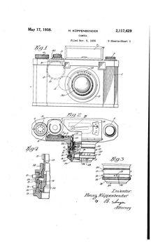 Patente US2117429 - Camera - Patentes do Google