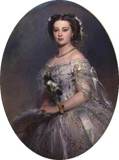 Victoria, Princess Royal of the United Kingdom of Great Britain; by Franz Xaver Winterhalter, c. 1857.