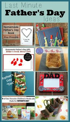 Last Minute Ideas for Father's Day from www.HowToHomeschoolMyChild.com