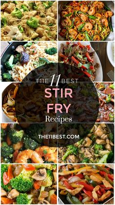 The 11 Best Stir Fry Recipes on Pinterest #chinesefoodrecipes