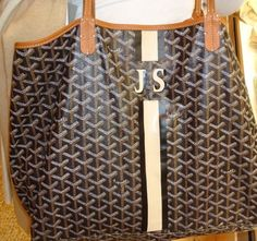 Goyard tote- already has my initials ... I'll take it!