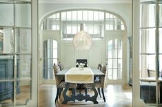 [CasaGiardino]  ♛  Blue and White Interior Architecture and Mouldings - laurel home