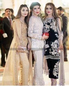 Kids Party Wear Dresses, Pakistani Party Wear Dresses, Designer Party Wear Dresses, Designer Evening Gowns, Pakistani Wedding Outfits, Pakistani Dress Design, Indian Designer Outfits, Pakistani Designers, Kurta Designs