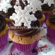 Brownies, muffins, cupcakes - sokolatomania.gr Brownies, Muffins, Butter, Cupcakes, Cookies, Cream, Desserts, Food, Cake Brownies