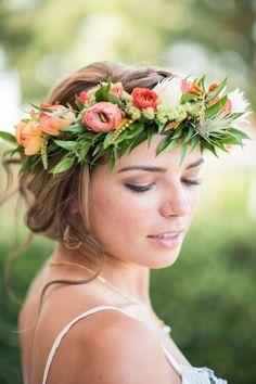 Tropical + Bohemian Florida Wedding Inspiration