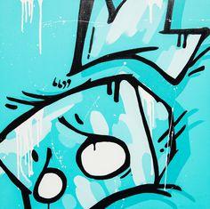 Buy Original Artwork at Artwork Only - Untitled (Teal) by Jasper Ash