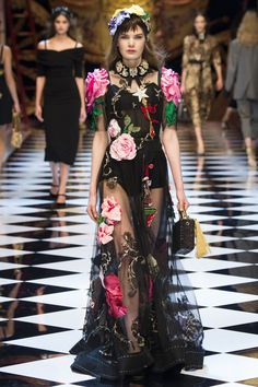 See the entire new Dolce & Gabbana collection on Vogue.com
