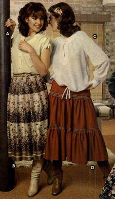 Afbeeldingsresultaat voor clothing of 1978 Seventies Fashion, 70s Fashion, Teen Fashion, Fashion Brand, Love Fashion, Vintage Fashion, Fashion Outfits, Fashion Design, Vintage Outfits