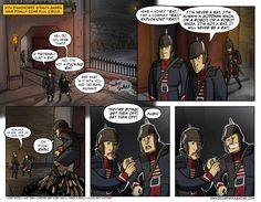 With #Dishonored stealth games have finally come full circle. #CriticalMiss #comic