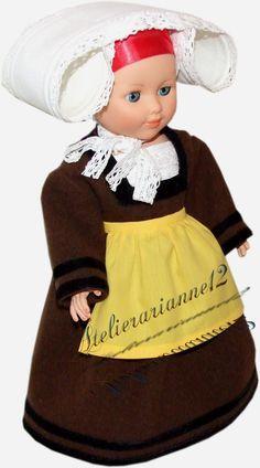 Vêtement MODES ET TRAVAUX février 1952,COSTUME DE BRETONNE pour Marie-Françoise  29,90 EUR