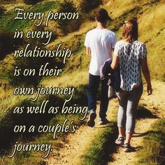 """""""Every person in every relationship is on their own journey as well as being on a couple's journey."""", Lidy Seysener, """"Love, Lies And The Games Couples Play"""", #relationship, #journey, #aCouplesJourney"""