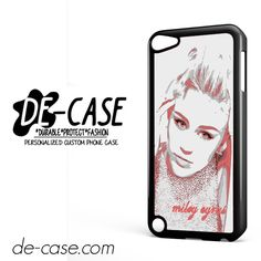 Miley Cyrus DEAL-7232 Apple Phonecase Cover For Ipod Touch 5