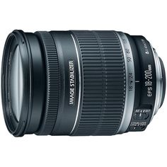 Canon EF-S 18-200mm IS Telephoto Zoom Lens for Digital SLR Cameras