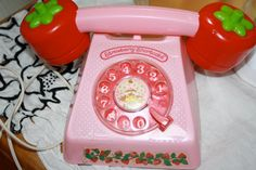 | Strawberry Shortcake Play Telephone 1980s collectable Rare in good ...